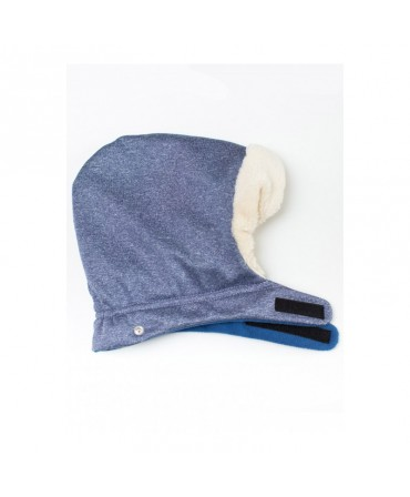 Gluga Protectie Iarna ISARA Timeless Blue Melange