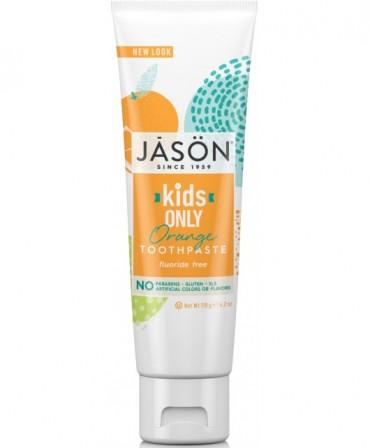 Pasta naturala de dinti cu portocale pt copii Jason