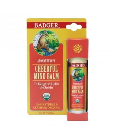 Balsam Aromaterapie, Cheerful Mind, 17 g, Badger