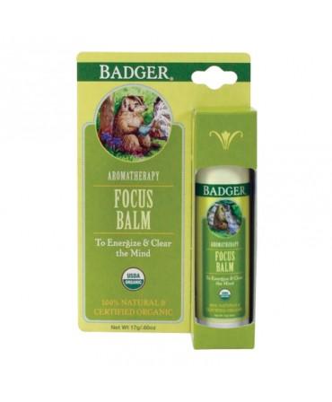 Balsam Aromaterapie, Focus Mind, 17 g, Badger
