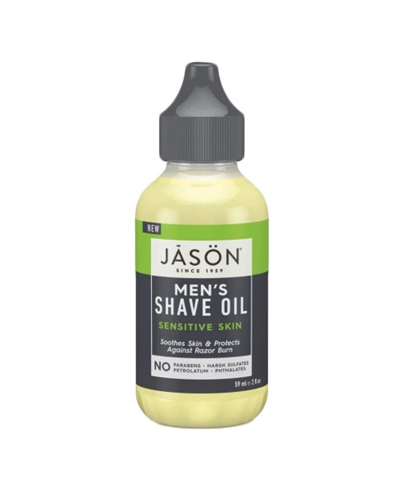 Ulei Hidratant Pentru Barbierit, Piele Sensibilă, 59 ml, Jason