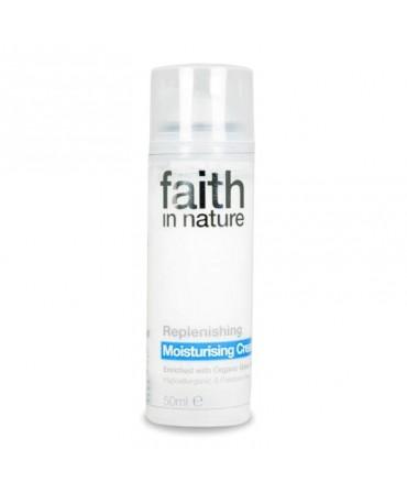 Cremă de Fata Hidratanta cu Ceai Verde, 50 ml, Faith in Nature