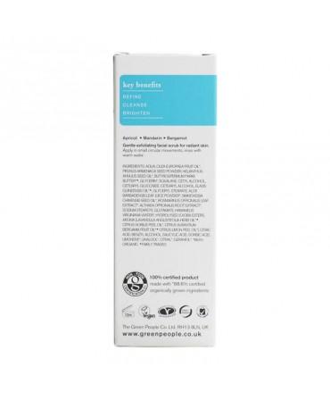 Exfoliant Organic de Fata cu Fructe, 50 ml, Green People