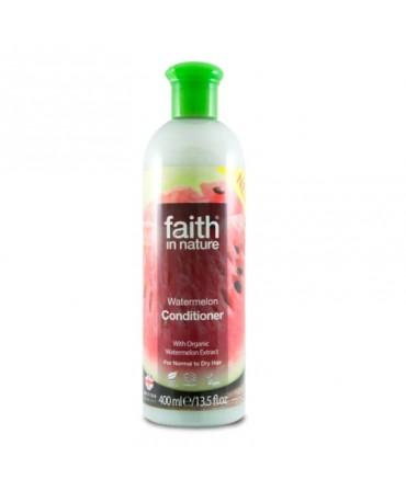 Balsam de Par cu Pepene, Pentru Păr Normal sau Uscat, 400 ml, Faith in Nature