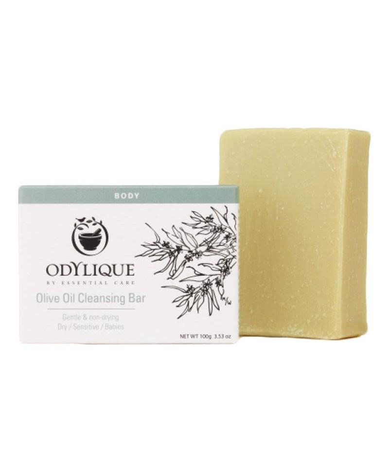 Sapun Hidratant cu Ulei de Măsline Pur  Pentru Piele Sensibilă, 100 g, Odylique