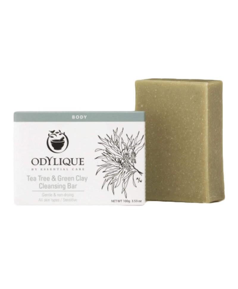 Sapun cu Tea Tree și Argila Verde, Anti Bacterian, 100 g, Odylique