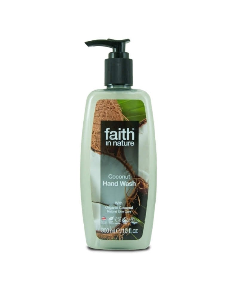 Sapun Lichid cu Cocos, 300 ml, Faith in Nature