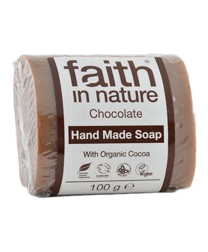 Sapun Solid cu Ciocolata, 100 g, Faith in Nature