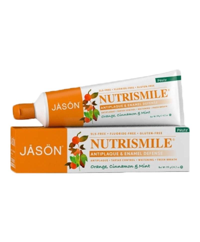 Pasta de Dinti Nutrismile Pentru Prevenirea Tartrului și Cariilor, 120 g, Jason