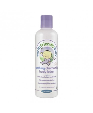 Crema de Corp Organica cu Musetel, 250 ml, Earth Friendly Baby